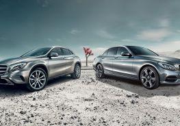 Mercedes GLA y Clase C