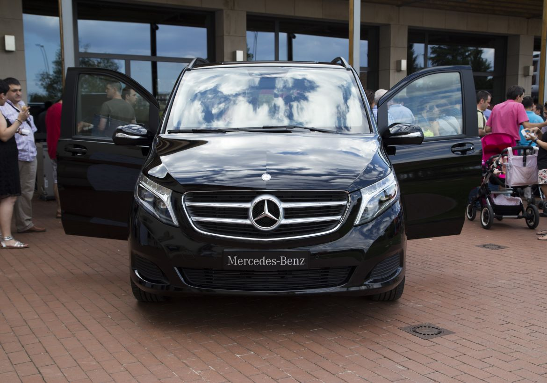 Presentación de Mercedes Clase V