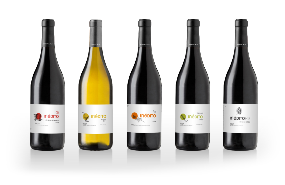 Bodegas Lacus - Diseño etiquetas de vino