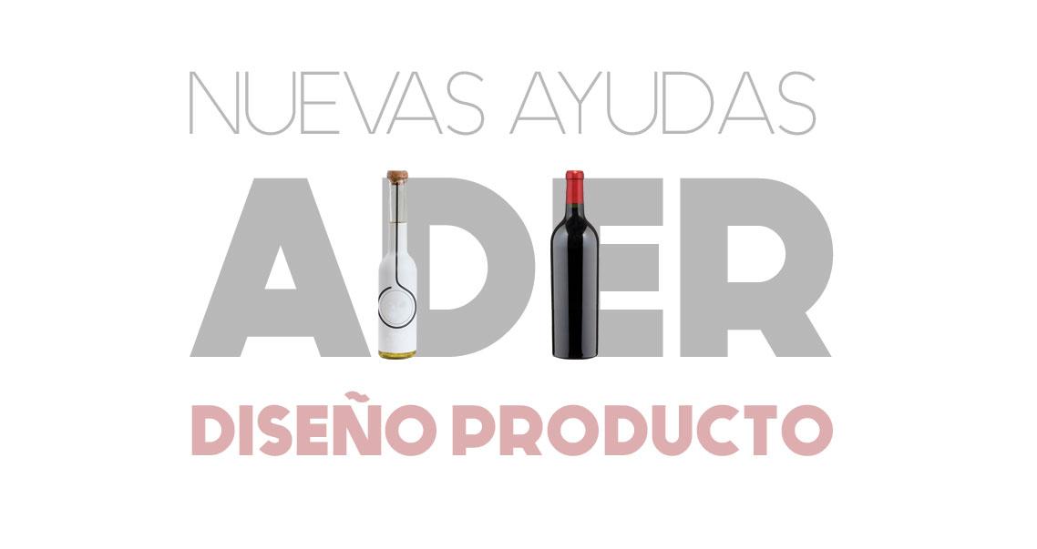 AYUDAS ADER PARA DISEÑO DE PRODUCTO