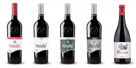 Diseño etiquetas de vino - Nocedal de Bodegas Fuenmayor
